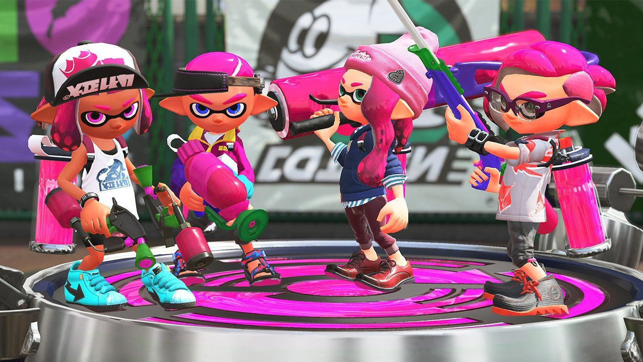 Nintendo Switch「Splatoon 2」7月21日発売!